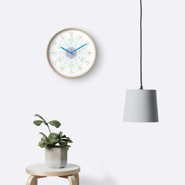 Tech-Organic Clock Dial by HoremWeb