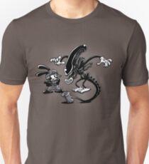 Vintage alien Unisex T-Shirt