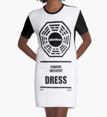 Dharma Initiative Products Graphic T-Shirt Dress