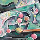 Italian Candleholder #2 by Tracy Sabin