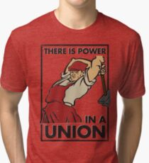 There Is Power in a Union (Vector Recreation) Tri-blend T-Shirt