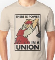 There Is Power in a Union (Vector Recreation) Unisex T-Shirt