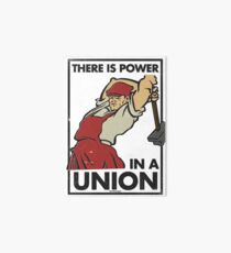 There Is Power in a Union (Vector Recreation) Art Board