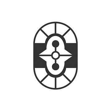 Minimal Geometric Shape // Dark Variant by sqrtdude