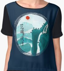 Find Beauty in Nature Women's Chiffon Top