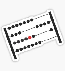 Abacus Sticker