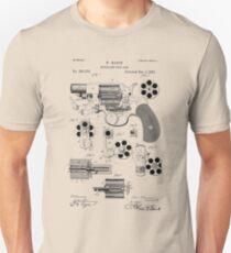 Revolving Fire Arm Patent 1881 T-Shirt