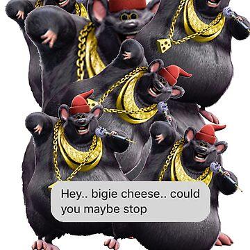 biggie cheese, never stop by Ryuketsu