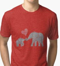 Elephant Hugs Vintage T-Shirt