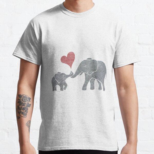 Elefantenumarmungen Classic T-Shirt