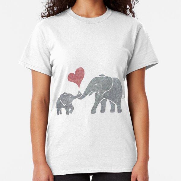 Elephant Hugs Classic T-Shirt
