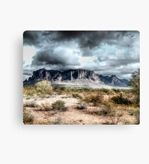 Superstitions Peaks Canvas Print