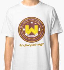 Camiseta clásica Wumbology Univiversity