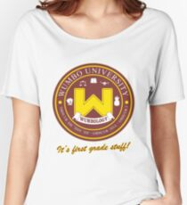 Wumbology Univiversity Women's Relaxed Fit T-Shirt