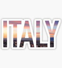 Italy Sticker Sticker