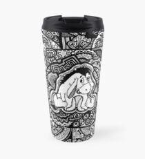 Eeyore Fanart Zendoodle Travel Mug