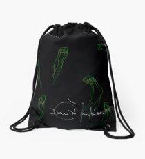 Toxic Jellyfish Drawstring Bag