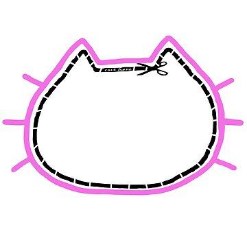 Keyhole Cat by hacklebears