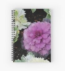 Decorative Cabbages Spiral Notebook