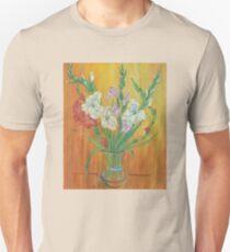 Gladioli in Color T-Shirt