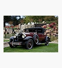 1928 Packard 526 Convertible Coupe II Photographic Print