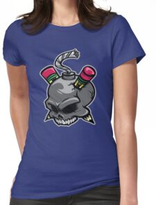 Create or Destroy Logo Womens Fitted T-Shirt
