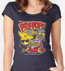 Psy-Pops Women's Fitted Scoop T-Shirt