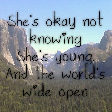 Wide Open lyrics by relentlesshope
