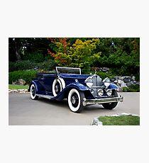 1932 Packard Victoria Convertible II Photographic Print