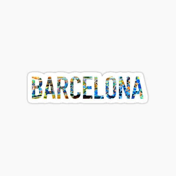 Barcelona Park Guell Sticker Sticker