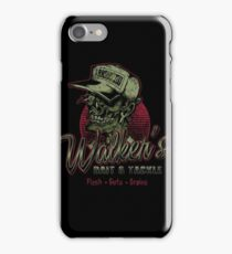 Walker's Bait N' Tackle iPhone Case/Skin