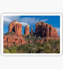 Cathedral Rock, Sedona Arizona Sticker