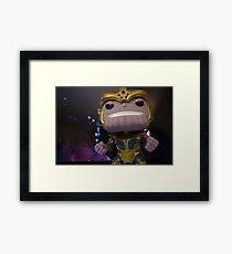 Thanos Framed Print