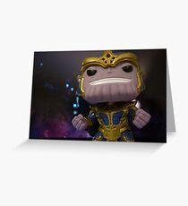 Thanos Greeting Card