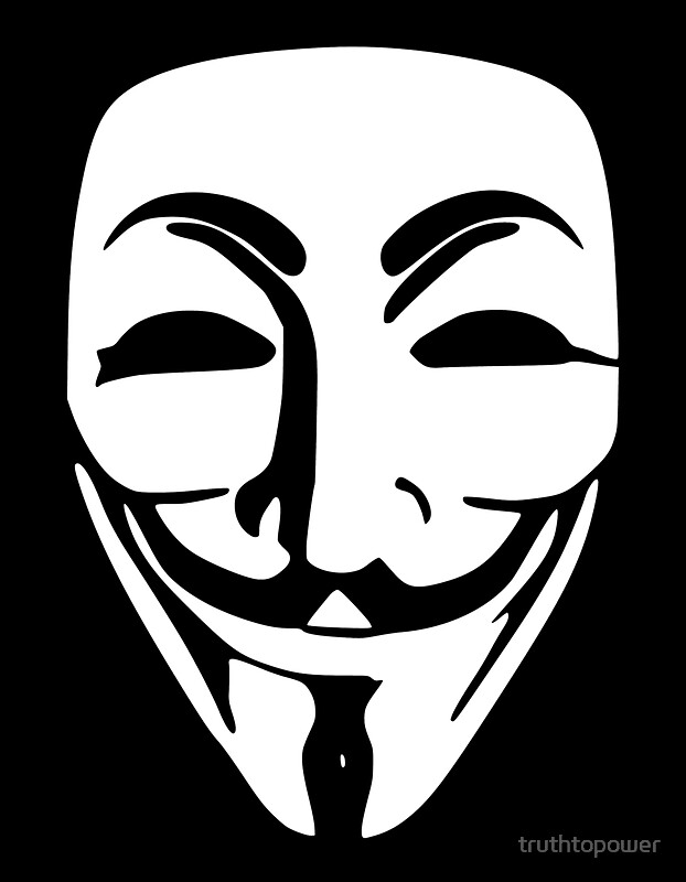 Anonymous guy fawkes mask by truthtopower