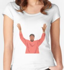 KANYE Women's Fitted Scoop T-Shirt