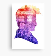 doctor who-david tennant Canvas Print