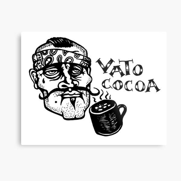 Vato Cocoa Metal Print