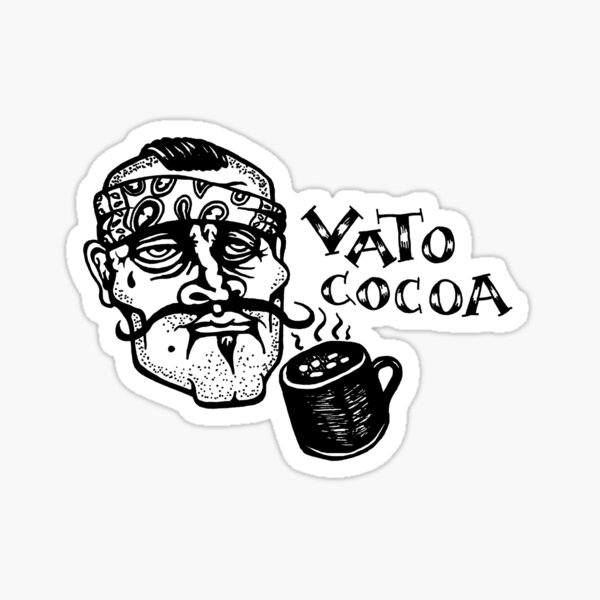 Vato Cocoa Sticker