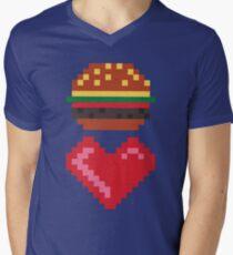 8-BIT BURGER LOVE T-Shirt