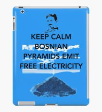 Keep Calm Free Pyramid Energy iPad Case/Skin