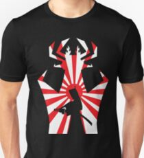 Jack on The Attack in Black Unisex T-Shirt