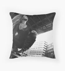 Up Up And Away (Ready) Throw Pillow