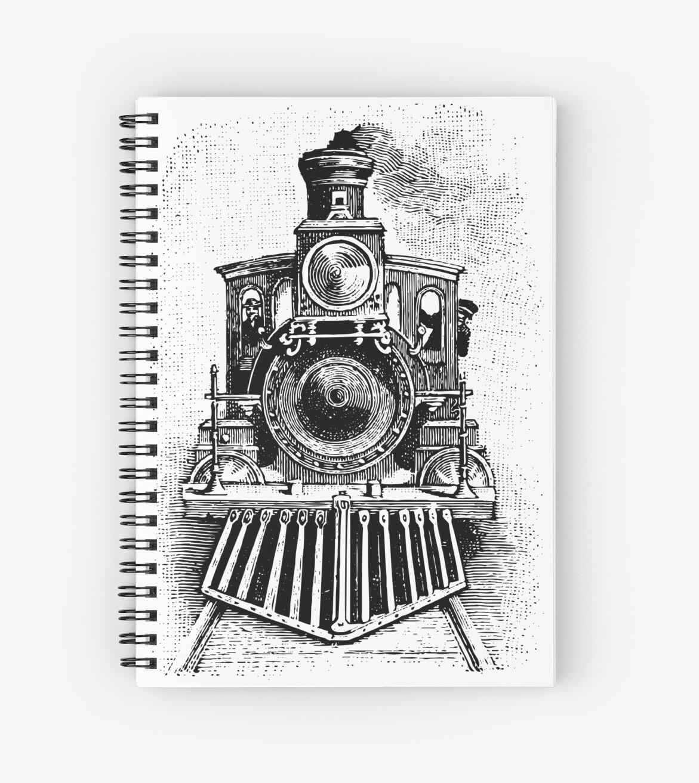 Vintage Locomotive Train