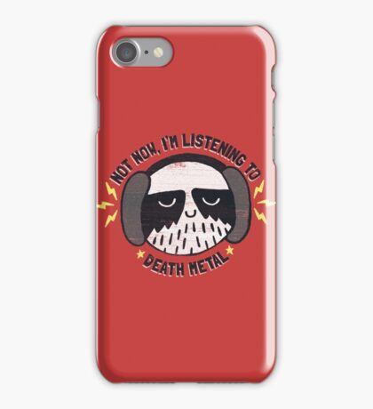 I'M HAVING A LITTLE ME TIME iPhone Case/Skin