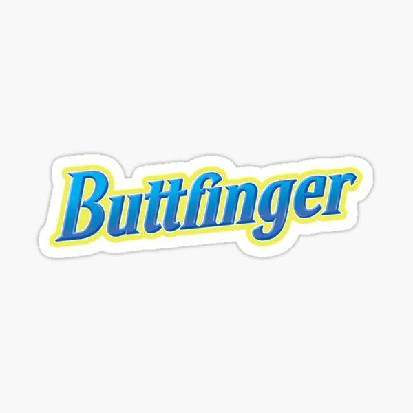 Buttfinger Sticker