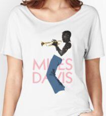 Miles Davis Women's Relaxed Fit T-Shirt