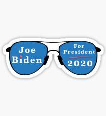 Joe Biden for President in 2020 Sticker