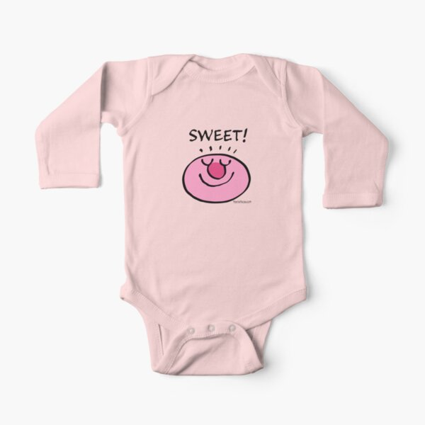 SWEET! Long Sleeve Baby One-Piece