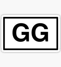 GG Sticker